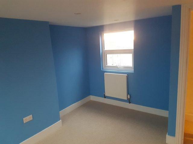 Dormer loft extension interior.